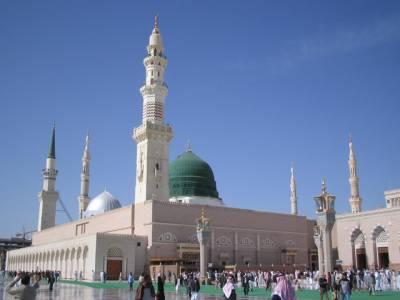 مسجد نبوی کے امام وخطیب شیخ علی الحذیفی حیریت سے ہیں، بیٹے نے وفات کی خبروں کی تردید کردی
