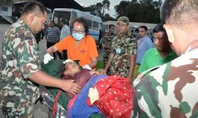نیپال میں زلزلہ متاثرین کی بس کھائی میں جاگری،33افراد ہلاک،28زخمی