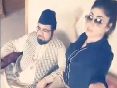 قندیل بلوچ قتل کیس : پولیس نے مفتی عبدالقوی کو حراست میں لینے کافیصلہ کر لیا ، موبائل فون بھی قبضے میں لے لئے