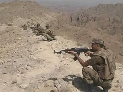 خیبر ایجنسی میں سیکیورٹی فورسز اور شدت پسندوں کے درمیان جھڑپ،ایک دہشت گرد ہلاک