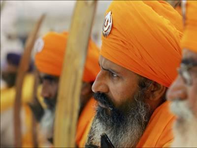 ہم بھی بھارت سے آزادی چاہتے ہیں، ریاست لدھیانہ میں سکھ عوام سڑک پر آگئے