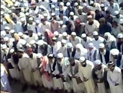 خیبر ایجنسی میں شہید ہونے والے دو فوجی جوانوں کی نماز جنازہ ادا کردی گئی
