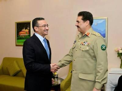 پاکستان اور ملائیشیاء کی فوجی قیادت کا دونوں ممالک کی افواج کے درمیان دفاعی تعاون بڑھانے پر زور