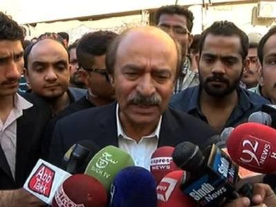 پیپلز پارٹی نے آمروں کا مقابلہ کیا ،اب بھی باطل قوتوں سے لڑنے کی ہمت رکھتے ہیں :نثار احمد کھوڑو