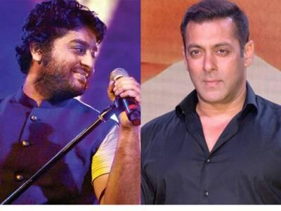 گلوکار ارجیت سنگھ کی معافی کی درخواست منظور: سلمان خان نے اپنی نئی فلم کیلئے گانے کا گرین سگنل دیدیا
