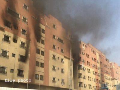 اسلام آباد میں واقع کثیر منزلہ عمارت میں آگ بھڑک اٹھی