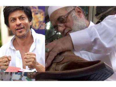 شاہ رخ خان کے لئے ہرن کی کھال سے بنی چپل کا معاملہ