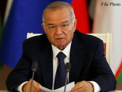 ازبک صدر اسلام کریموف طویل علالت کے بعد چل بسے