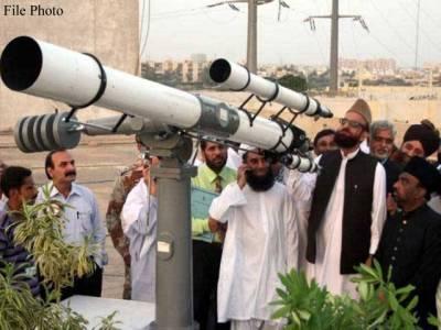 ذی الحج کا چاند آج نظرآنے کا قوی امکان،عید12ستمبر کو ہو سکتی ہے