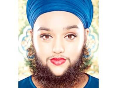 """برطانوی """" داڑھی والی کم عمر ترین خاتون"""" کا نام گینز بک میں درج"""