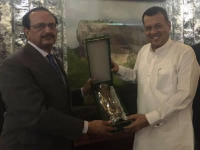 پاکستان سری لنکا کا قابلِ اعتماد دوست ،فنی تربیت میں ایک دوسرے سے بھر پور تعاون کریں گے: سری لنکن وزیر کی ''نیو ٹیک '' کے سربراہ ذوالفقار چیمہ سے ملاقات