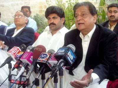 قائم علی شاہ کی کرپشن کے خلاف نیب کو خط ارسال ،مراد علی شاہ کی سکیمیں بھی جعلی ،چائے پی اور کرکٹ کھیل کر ڈرامہ کیا جارہا ہے:سابق وزیر اعلیٰ سندھ لیاقت جتوئی