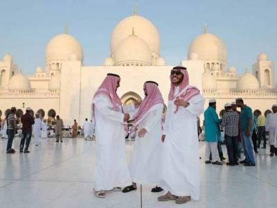 سعودی عرب، خلیجی ممالک اور یورپ میں نماز عید کے روح پرور اجتماعات ، مسلمانوں کے اتحاد اوردہشتگردی کے خاتمے کیلئے خصوصی دعائیں