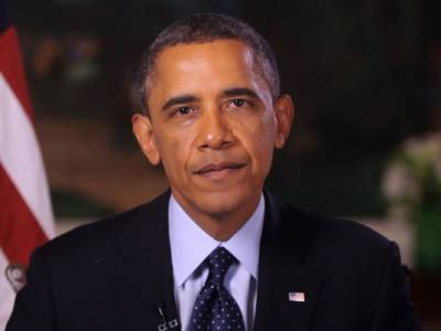 """"""" عید ہمیں حضرت ابراہیمؑ کی عظیم قربانی کی یاد دلاتی ہے""""امریکی صدر باراک اوباما کی مسلمانوں کو مبارک باد"""