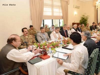 نیشنل ایکشن پلان پر عملدر آمد سے متعلق جائزہ اجلاس ملتوی، وزیر اعظم کے دورہ امریکہ کے بعد طلب