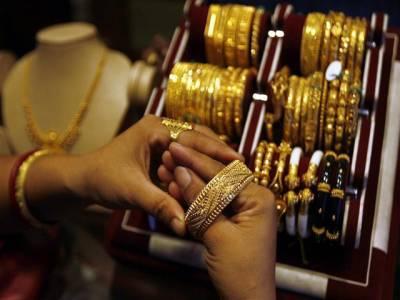 سونے کی قیمت میں 94 روپے کی کمی، فی تولہ51 ہزار804 روپے کا ہوگیا