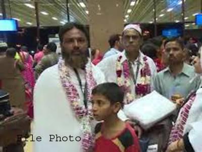 غیر ملکی ائیر لائن 300 حاجیوں کو لے کر لاہور پہنچ گئی