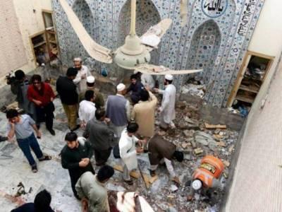 مہمند ایجنسی کے علاقے بٹہ مینہ کی مسجد میں خودکش دھماکے میں زخمی 8 افراد دم توڑ گئے، شہادتوں کی تعداد 37 ہو گئی