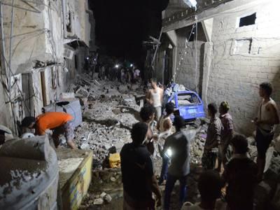 سعودی عرب کی فضائی کارروائی ، یمن میں بچوں سمیت 20شہری جاں بحق، صدارتی محل بھی متاثر