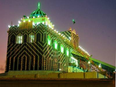 گورنر سندھ ڈاکٹر عشرت العباد نے عبداللہ شاہ غازی کے عرس کا افتتاح کر دیا ، 3 روزہ تقریبات میں زائرین کی آمد جاری