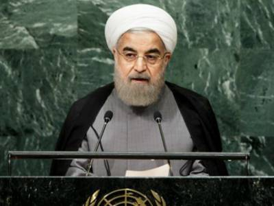 اقوام متحدہ میں خطاب،ایرانی صدر سعودی عرب پر برستے رہے