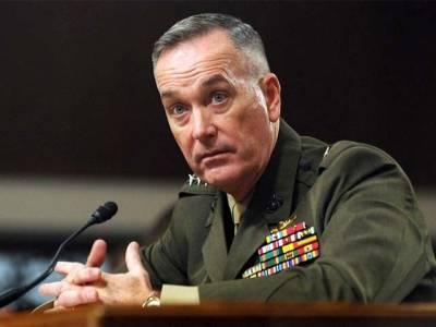 روس کے ساتھ شام بارے خفیہ معلومات کا تبادلہ غیردانشمندانہ فعل ہو گا، امریکی جنرل