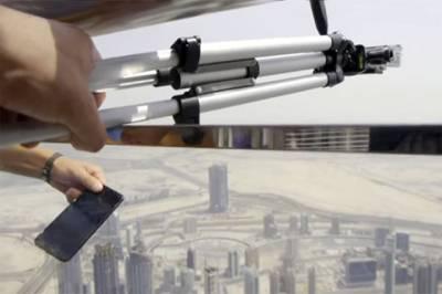برج خلیفہ سے موبائل فون نیچے پھینکنے والا یوکرینی باشندہ گرفتار