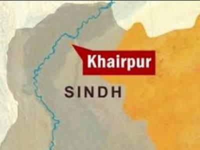 خیر پور کے قریب پولیس اور ڈاکوﺅں میں فائرنگ، 2اہلکار شہید ، ڈاکو بھی مارا گیا