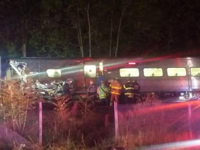 نیویارک، ٹرین پٹری سے اتر گئی،29مسافر زخمی