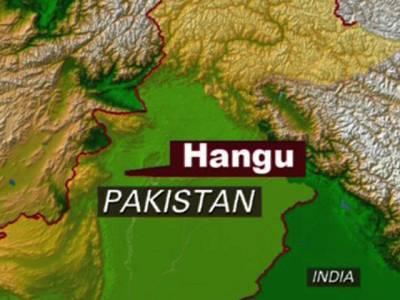ہنگو میں سکول وین کھائی میں جا گری ، استاد سمیت 22بچے زخمی