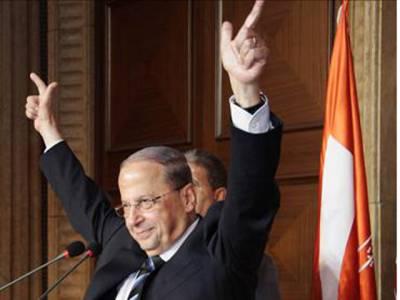لبنان میں دوسال سے خالی صدارتی عہدے کیلئے فری پیٹریوٹیک پارٹی کے سربراہ مشیل عون نامزد
