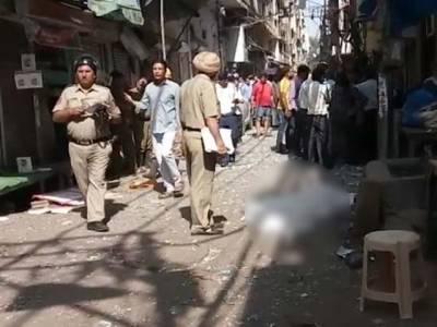 بھارتی شہر نئی دہلی کے بازار میں دھماکا ، 1شخص ہلاک ، 5زخمی