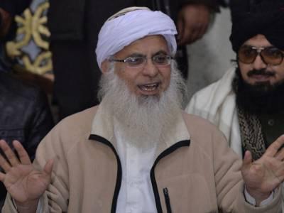 خطیب لال مسجد نے عمران خان کے دھرنے کی حمایت کردی
