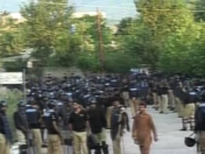 بنی گالہ کو ایف سی،پولیس اہلکاروں نے گھیر لیا ، عمران خان کی گرفتاری یا نظر بندی کا امکان