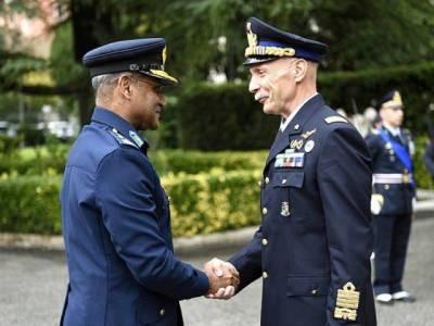 پاکستان اور اطالوی فضائی افواج کا مشترکہ مشقوں پر اتفاق