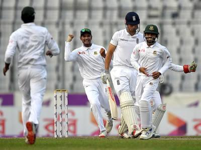 """ؒ""""بچہ بڑا ہو گیا"""" بنگلہ دیش نے بانی کرکٹ کو دوسرے ٹیسٹ میں 108 رنز سے زیر کر لیا"""