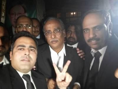 سپریم کورٹ بار انتخابات،عاصمہ جہانگیر گروپ کو 6سال بعد شکست،حامد خان گروپ کے رشید رضوی کامیاب