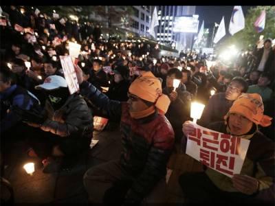 جنوبی کوریا کی صدر نے وزیرا عظم کو عہدے سے ہٹا دیا