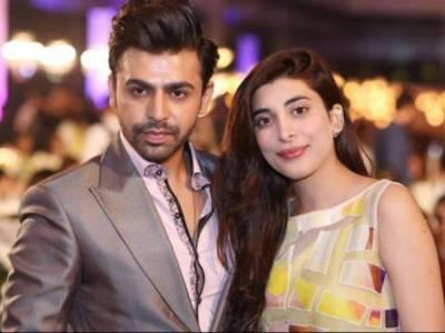 پاکستانی اداکارہ عروہ حسین اور اداکار فرحان سعید نے منگنی کا اعلان کردیا