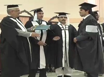 """""""کرپشن زدہ گورنر سے ڈگری نہیں لوں گا"""" پشاور یونیورسٹی کے طالب علم نے ڈگری لینے سے انکار کر دیا"""