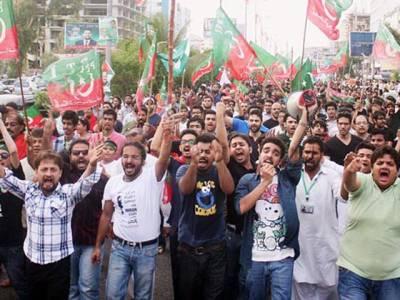 اسلام آباد دھرنا کے سلسلہ میں 847 افراد نظر بند، 293 گرفتارکئے گئے ،ہائی کورٹ میں حکومت کا اعتراف