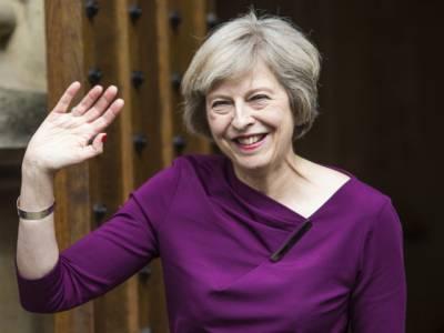 برطانوی وزیراعظم تھریسامے تین روزہ دورے پر بھارت پہنچ گئیں