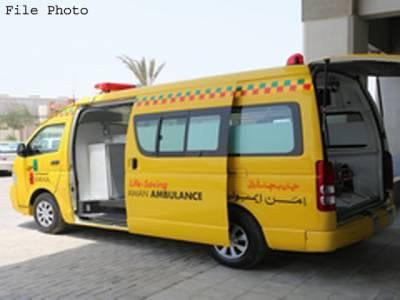 تھرپارکر میں بچوں اور ماﺅں کی اموات روکنے کیلئے ایمبولینس سروس شروع کر دی گئی