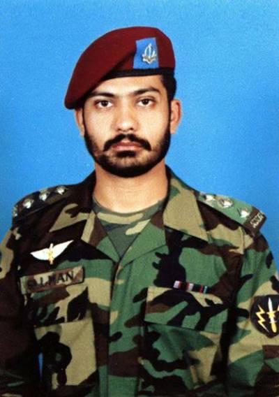 کمانڈو شہید،کیپٹن سلمان فاروق لودھی