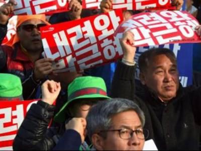اختیارات کا ناجائز استعمال :جنوبی کوریا میں بھی شہری صدر کے خلاف سڑکوں پر نکل آئے ، استعفیٰ کا مطالبہ