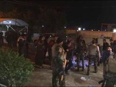 عراق: شہر فلوجہ کے قریب شادی کی تقریب میں خودکش حملہ، 40باراتی جاں بحق ، 60زخمی