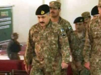 بارڈر مینجمنٹ فرنٹیئر کور کریگی ، ملک سے دہشتگردوں کے ٹھکانے ختم ہو چکے ہیں : کور کمانڈر پشاور