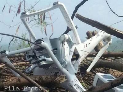 بھارتی ڈرون طیارہ پاکستانی حدود میں ڈھیر ہوگیا