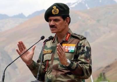 بھارتی فوج کے سربراہ آج چار روزہ دورے پر چین پہنچیں گے :بھارتی میڈیا