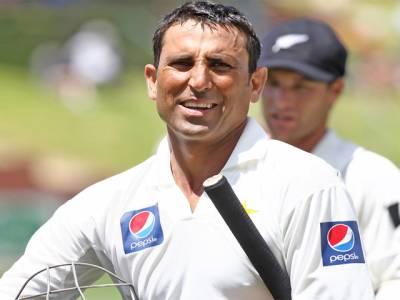 پاکستانی بیٹسمین یونس خان نئے منفی ریکارڈ کے مالک بن گئے
